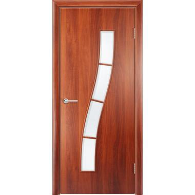 Ламинированная дверь «Змейка ДО»