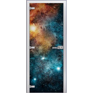 """Стеклянное полотно """"Space"""" (фотопечать)"""