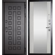 Входная металлическая дверь МД-30 (с зеркалом)